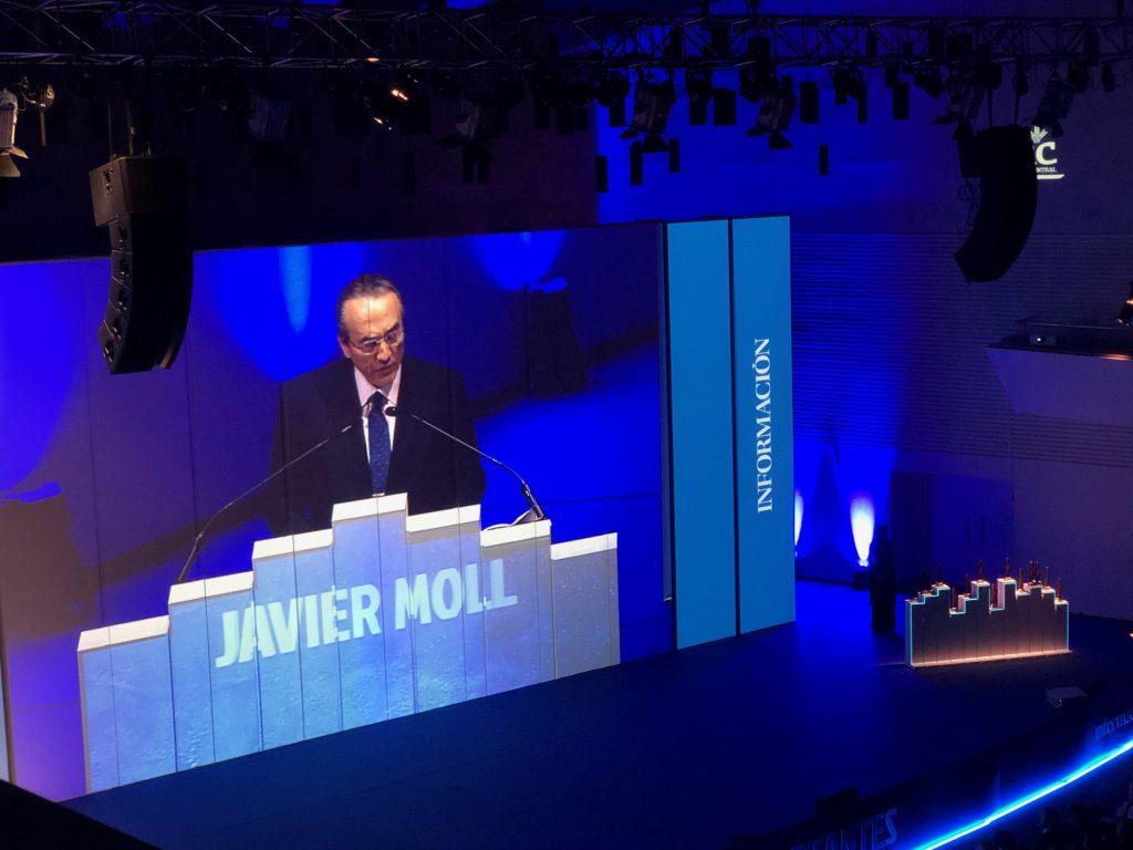 Presidente de Prensa ibérica, Javier Moll.