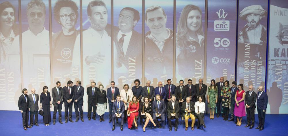Fotos premiados 35 Gala de los Importantes