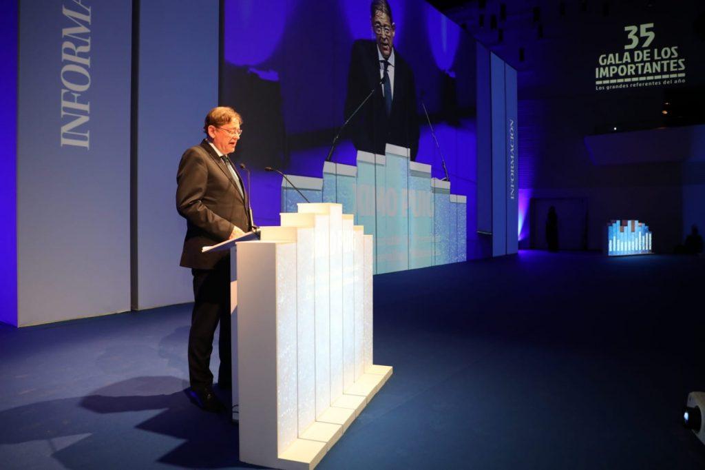 Presidente de la Generalitat Valenciana, Ximo Puig