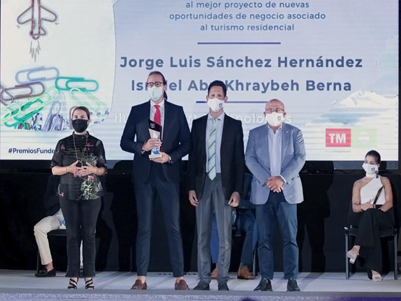 Entrega premio a Ilumit Smart Technologies